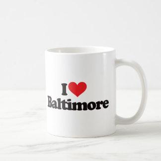 Ik houd van Baltimore Koffiemok