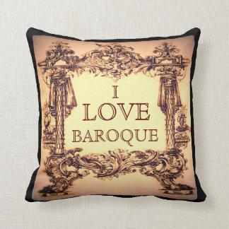 Ik houd van Barok werp Kussen