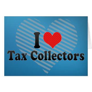Ik houd van Belastingontvangers Kaart