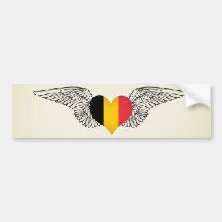 Ik houd van België - vleugels Bumpersticker