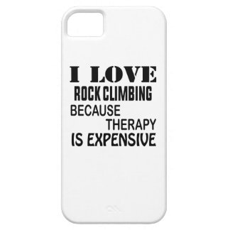 Ik houd Van Bergbeklimming omdat de Therapie Duur Barely There iPhone 5 Hoesje