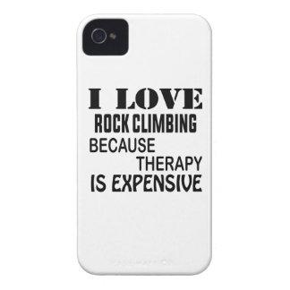 Ik houd Van Bergbeklimming omdat de Therapie Duur iPhone 4 Hoesje