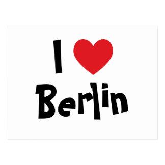 Ik houd van Berlijn Briefkaart