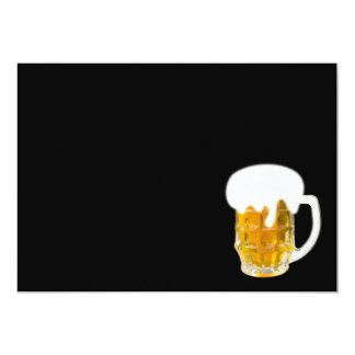 Ik houd van bier 12,7x17,8 uitnodiging kaart