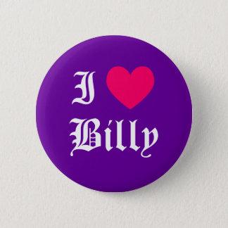 Ik houd van Billy Ronde Button 5,7 Cm