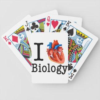 Ik houd van Biologie Poker Kaarten