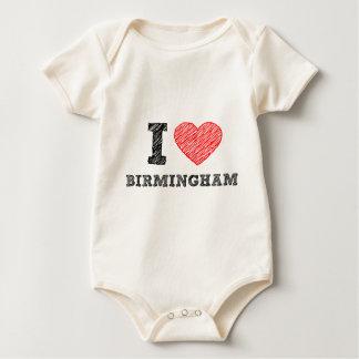 Ik houd van Birmingham Baby Shirt