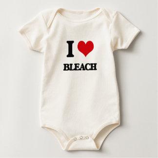 Ik houd van Bleekmiddel Baby Shirt