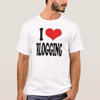 Ik houd van Blogging T Shirt