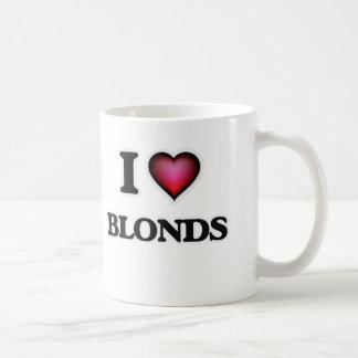 Ik houd van Blonds Koffiemok