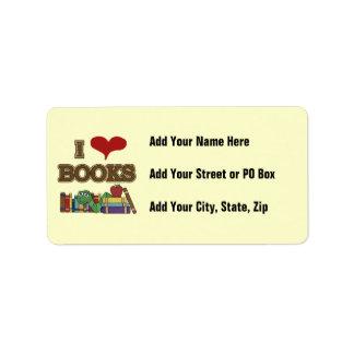 Ik houd van Boeken Etiket