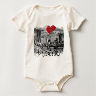 Ik houd van Boston Baby Shirt