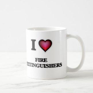 Ik houd Van Brandblusapparaten Koffiemok
