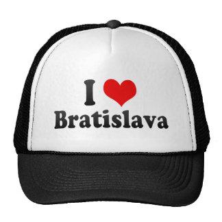 Ik houd van Bratislava, Slowakije Trucker Pet