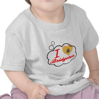 Ik houd van Bridgeton, New Jersey Tshirt