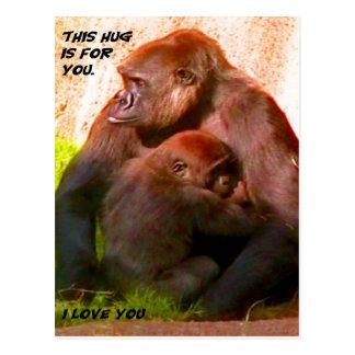 Ik houd van Briefkaart You_