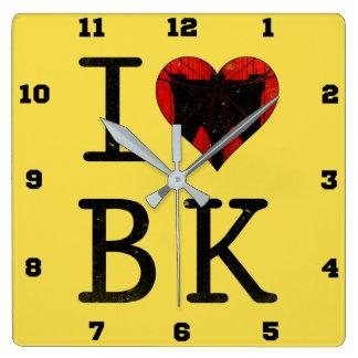Ik houd van Brooklyn, de Klok van BK New York