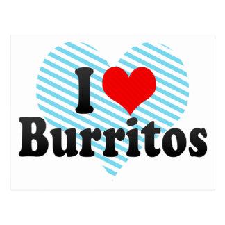 Ik houd van Burritos Briefkaart