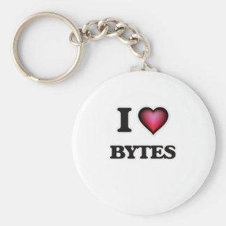 Ik houd van Bytes Sleutelhanger