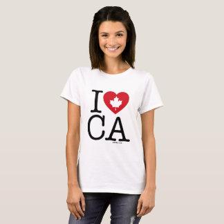 Ik houd van CA de T-shirt van   van I van de