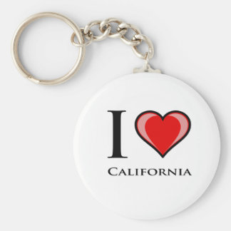 Ik houd van Californië Sleutelhanger