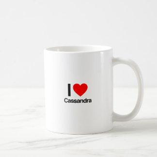 ik houd van cassandra koffiemok