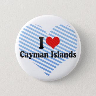 Ik houd van Caymaneilanden Ronde Button 5,7 Cm