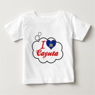 Ik houd van Cayuta, New York T-shirts