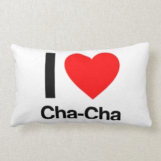 ik houd van cha-cha lumbar kussen