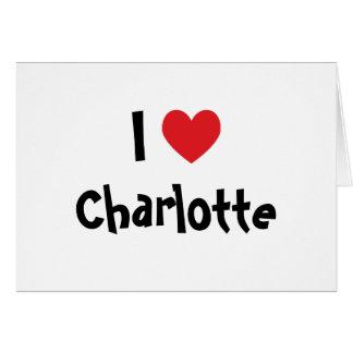 Ik houd van Charlotte Kaart