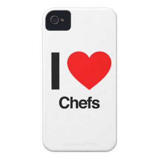 ik houd van chef-koks iPhone 4 hoesje