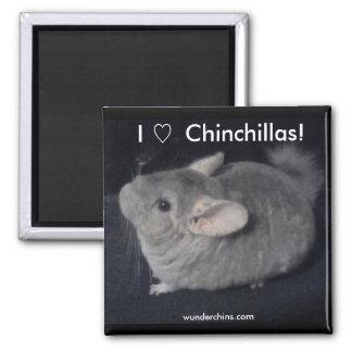 Ik houd van Chinchilla's Magneet