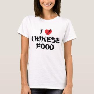 Ik houd van Chinees Voedsel T Shirt