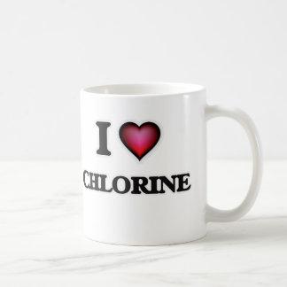 Ik houd van Chloor Koffiemok