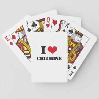Ik houd van Chloor Speelkaarten