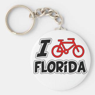 Ik houd van cirkelend Florida Sleutelhanger