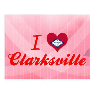 Ik houd van Clarksville, Arkansas Briefkaart