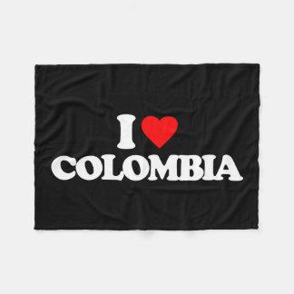IK HOUD VAN COLOMBIA FLEECE DEKEN