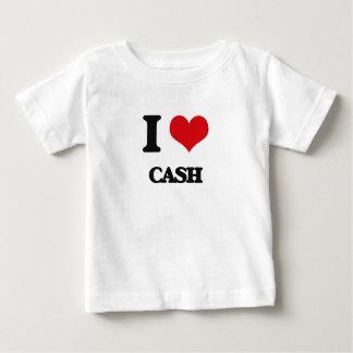 Ik houd van Contant geld Baby T Shirts