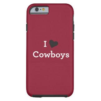 Ik houd van Cowboys Tough iPhone 6 Hoesje