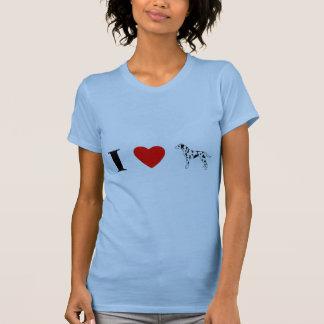 Ik houd van Dalmatians T Shirt
