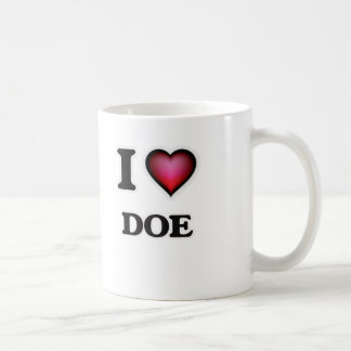 Ik houd van Damhinde Koffiemok