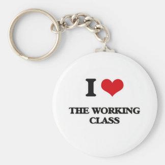 Ik houd van de Arbeidende klasse Sleutelhanger