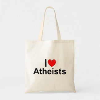Ik houd van de Atheïsten (van het Hart) Draagtas