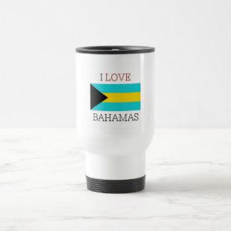 Ik houd van de Bahamas Reisbeker