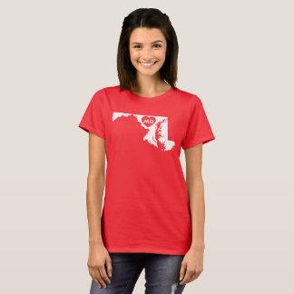 Ik houd van de BasisT-shirt van de Vrouwen van de T Shirt