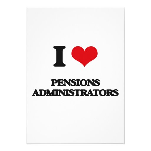Ik houd van de Beheerders van Pensioenen Persoonlijke Aankondiging