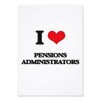 Ik houd van de Beheerders van Pensioenen Aankondiging