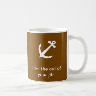 Ik houd van de besnoeiing van uw kraanbalk koffiemok