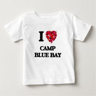Ik houd van de Blauwe Baai New York van het Kamp T-shirt